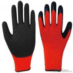 Sandy Nitrile Coating Glove/Work Glvoes Salt&Pepper Cut Resistance Liner