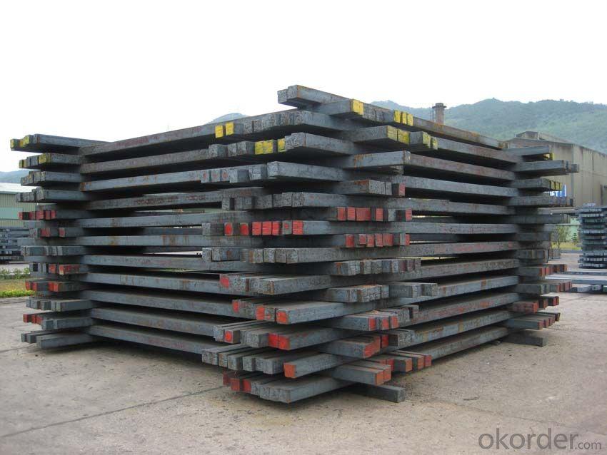 Hot Rolled Square Steel Billet 3SP Standard 120mm