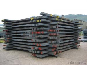 Hot Rolled Square Steel Billet 3SP Standard 130mm