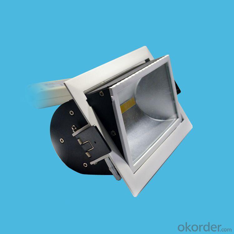 Wall wash led recessed COB downlight 20W 25W 30W 40W