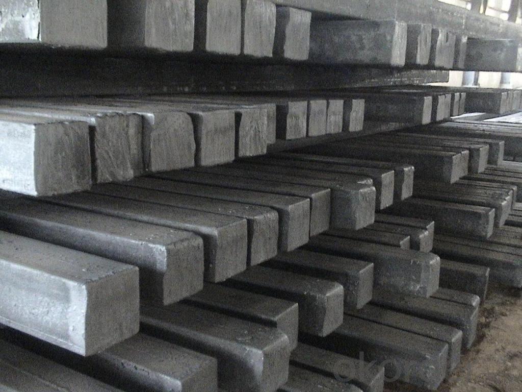 Hot Rolled Square Steel Billet 3SP Standard 190mm