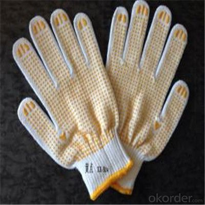 Cotton Knitted Gloves for Working with High Quality for  Kitchen And Butcher