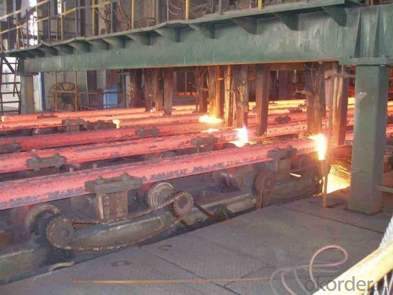 Hot Rolled Square Steel Billet 3SP Standard 170mm