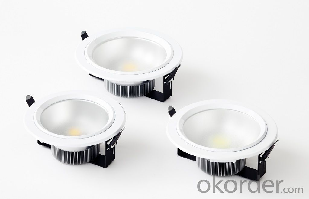 High Power Square Cob Led UL Downlights with anti-glare lens