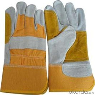 Neoprene Driving Gloves with Split Double Palm Leather Work Glove