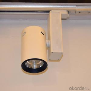led cob track light 30W use for Museum and art lighting