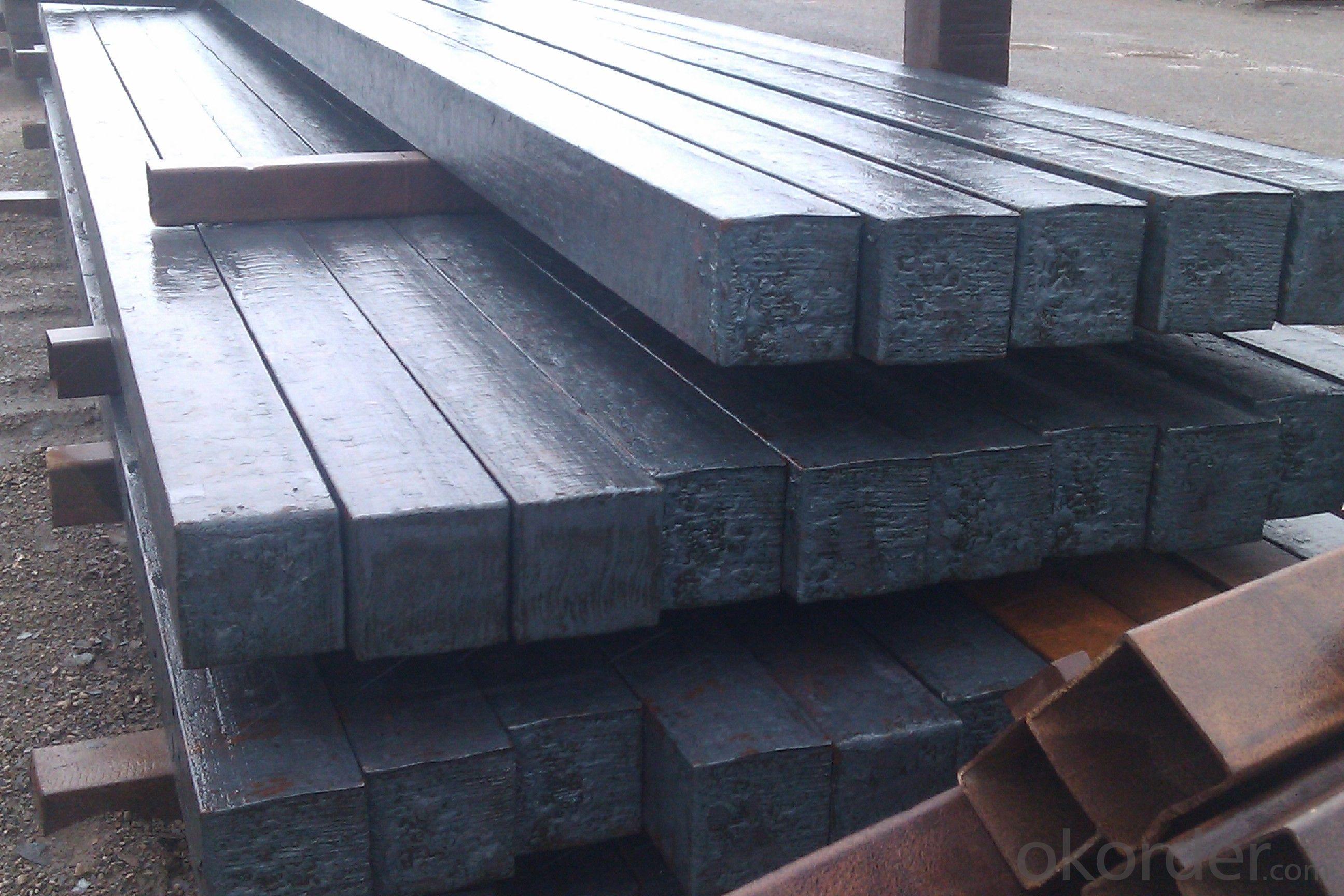 Hot Rolled Square Steel Billet 3SP Standard 135mm