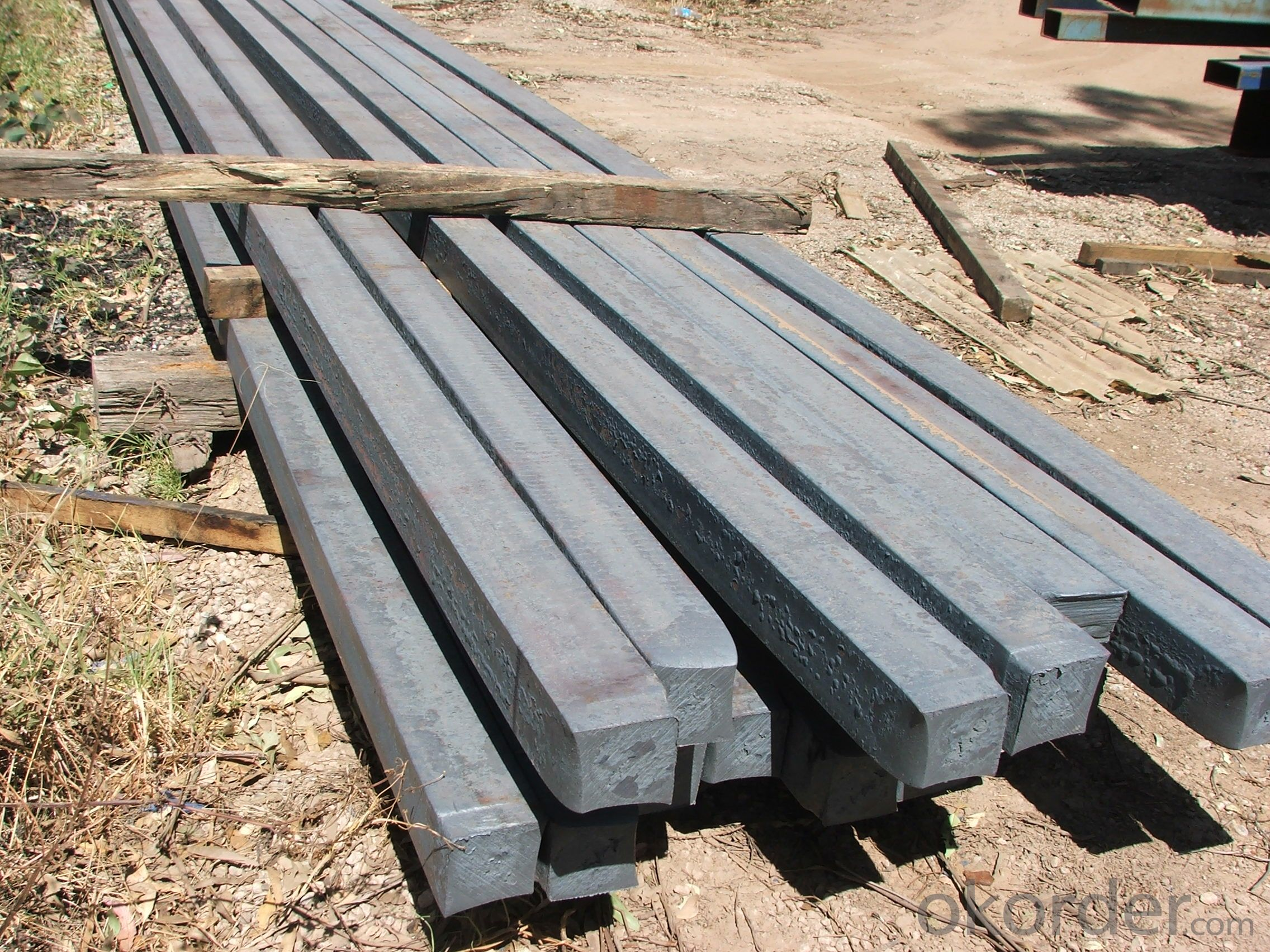 Hot Rolled Square Steel Billet 3SP Standard 185mm
