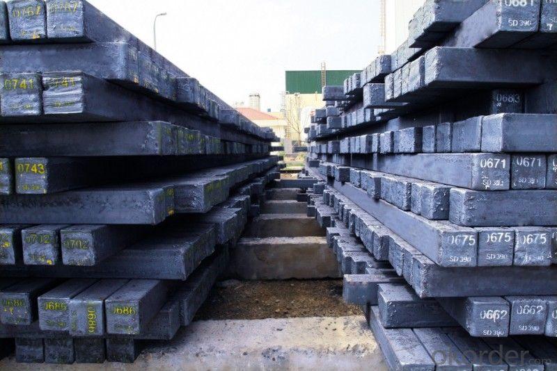 Hot Rolled Square Steel Billet 3SP Standard 165mm