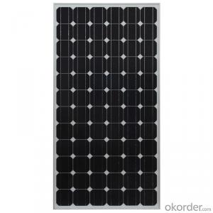250W Monocrystalline Solar Module for 12V Battery Charging