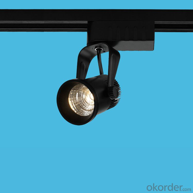 cob led track spotlight 2/3/4 line rail head for 3 years warranty