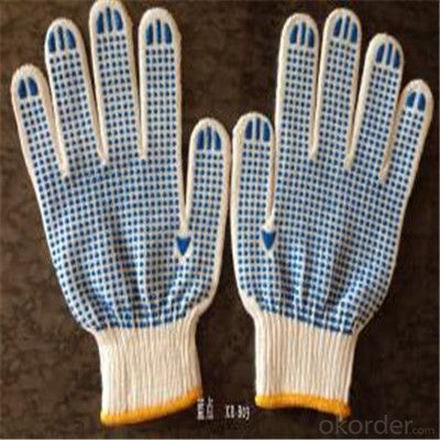 Cotton Knitted Gloves for Working for Kitchen Cut Protection