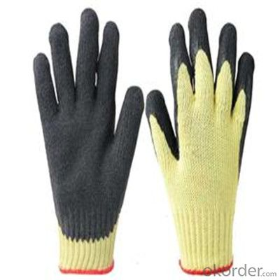 PU Work Glove Salt&Pepper Cut Resistance Liner