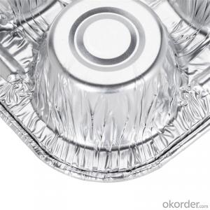 ALU foil with 8 colors for 8011 1235 aluminum foil