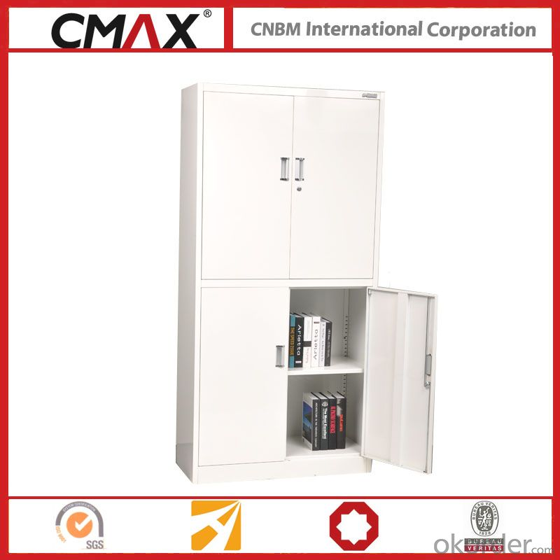 Filing Cabinet Full Height Cupboard with 4 Doors CMAX-SC008