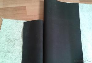 EPDM Rubber Coiled Waterproof Membrane with Special Treatment
