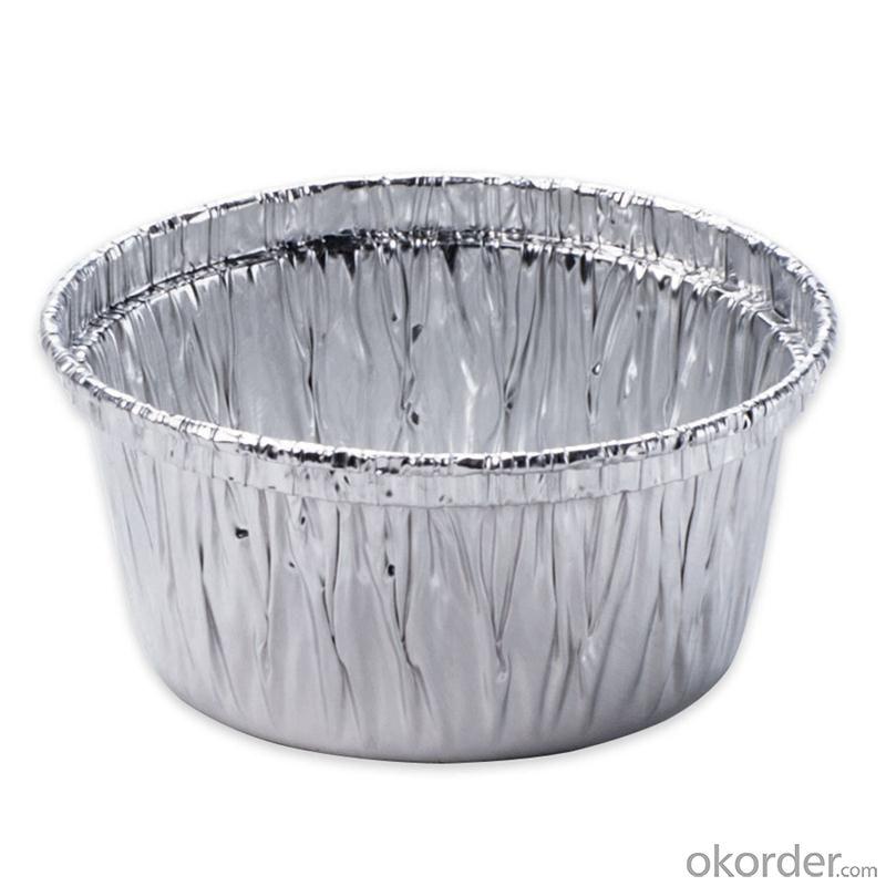 Aluminum foil container - pie pan container foil FOR FOOD 8011 FOIL