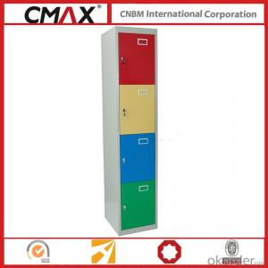 Steel Locker 4 Compartments Cmax-SL04-04