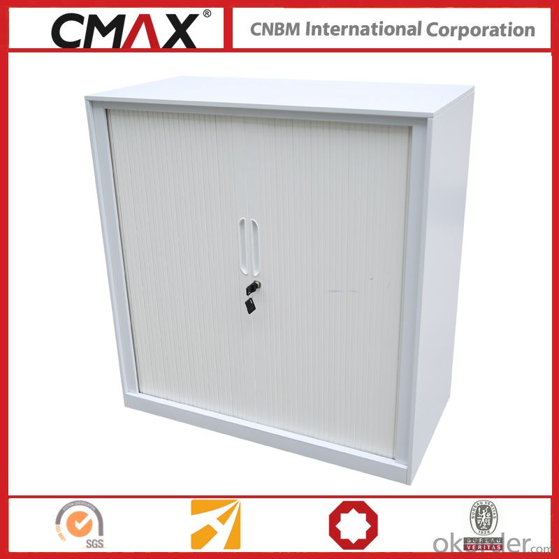 Filing Cabinet Half Height Cupboard Roling Door Cmax-Shc001