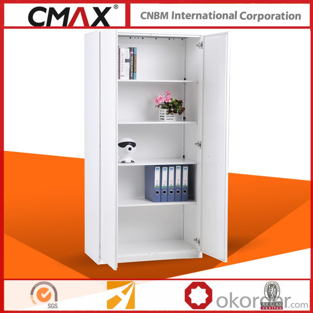 Swing Door File Cabinet Cupboard CMAX-QG-HD-5