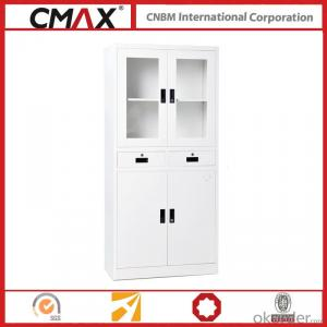 Filing Cabinet Full Height Instrument Cupboard White CMAX-SC010