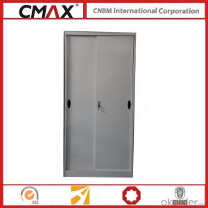 Filing Cabinet Full Height Cupboard with Sliding Door Cmax-Sc004