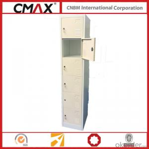 Steel Locker 6 Compartments Cmax-SL06-01