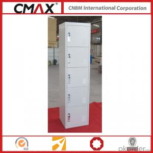Steel Locker 5 Compartments Cmax-SL05-01