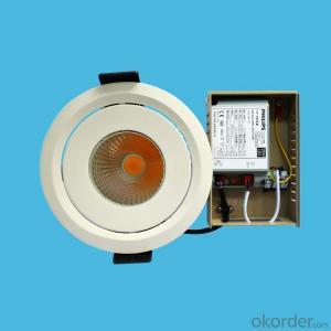 led cob spotlight 15W 20W 30W 40W for 3 years warranty