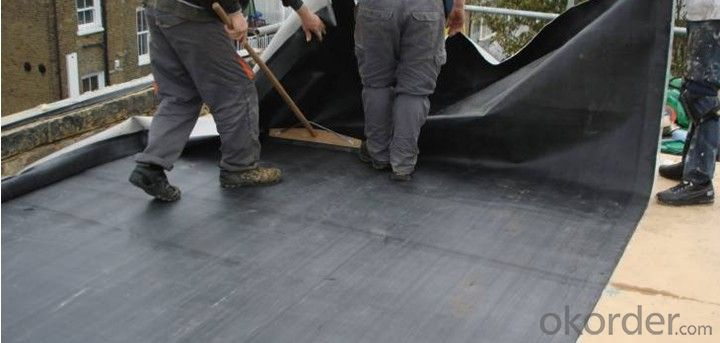 EPDM Rubber Coiled Waterproof Membrane for Brick Roof