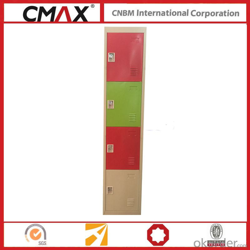 Steel Locker 4 Compartments Cmax-SL04-06