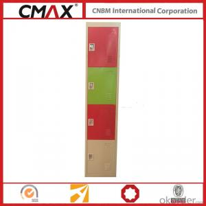 Steel Locker 4 Compartments Cmax-SL04-06