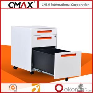 Office Steel Mobile Pedestal Cabinet CMAX-MPD-PBF