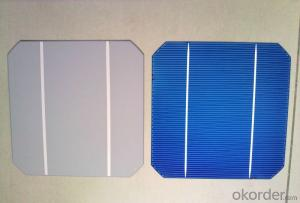Mono Solar Cells156mm*156mm in Bulk Quantity Low Price Stock 18.6