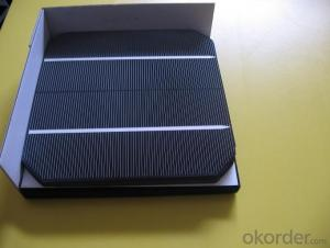 Mono Solar Cells156mm*156mm in Bulk Quantity Low Price Stock 18.2