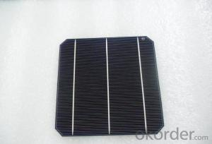 Mono Solar Cells156mm*156mm in Bulk Quantity Low Price Stock 18.8