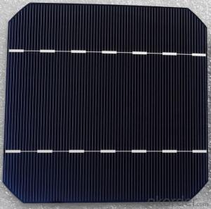Mono Solar Cells156mm*156mm in Bulk Quantity Low Price Stock 18.2