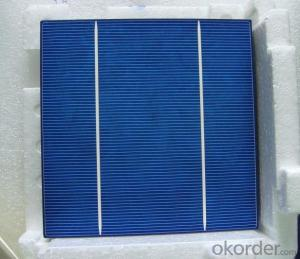 High Current Solar Cell 18.0% Polycrystalline Silicon Solar Cell Price