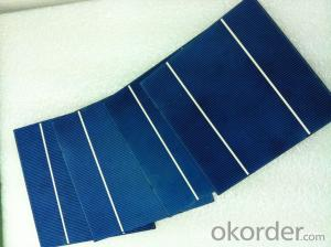 High Current Solar Cell 17.0% Polycrystalline Silicon Solar Cell Price