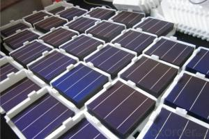 High Current Solar Cell 17.4% Polycrystalline Silicon Solar Cell Price