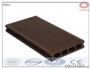 WPC Hollow Deck Tile Hot Sell Beautiful Decking China