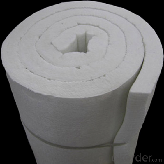 Ceramic Fiber Blanket with Resistance to Blowing