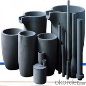 Sic Graphite Crucible with Long  Working Life for  Melting Metals