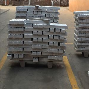 Mg9994 Magnesium Alloy Ingot Plate Good Quality Ingot