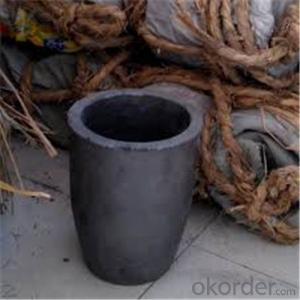 Sic Graphite Crucible for Melting Metal with Good Quality