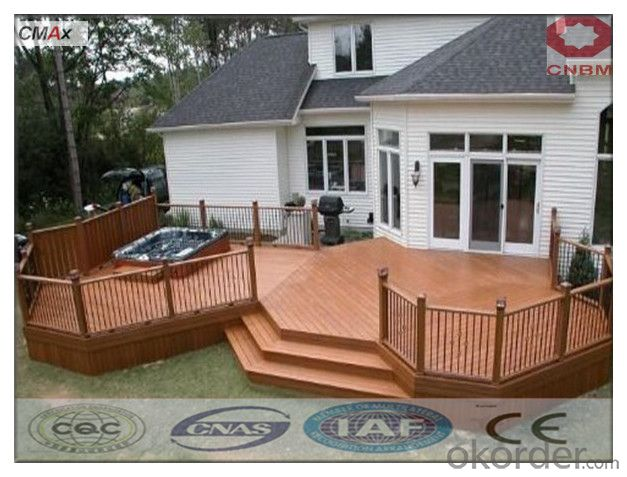 WPC Hollow Deck Tile Hot Sell Beautiful Decking For Sale China