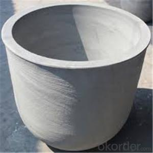 Sic Graphite Crucible for Copper