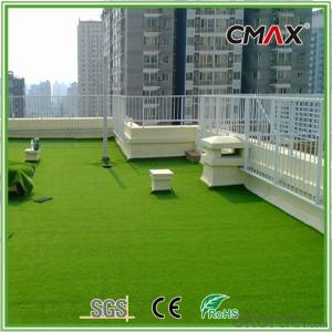 Outdoor,Balcony and Garden Landscaping Grass with PP/Rectangle PE