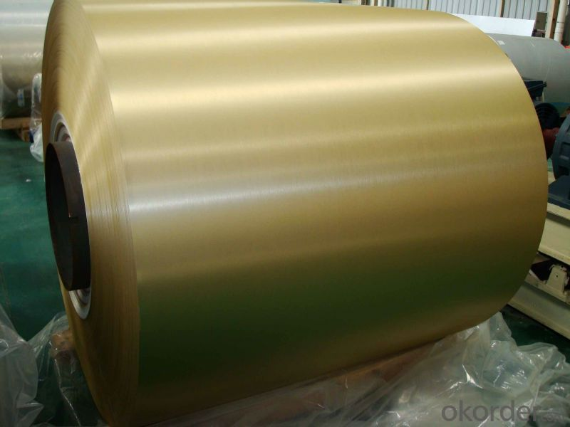 Brushed Coated Aluminium Coils for Metal Wall ACP