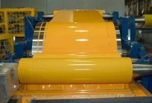 Yellow Coil Coating Aluminium Coils for ACP